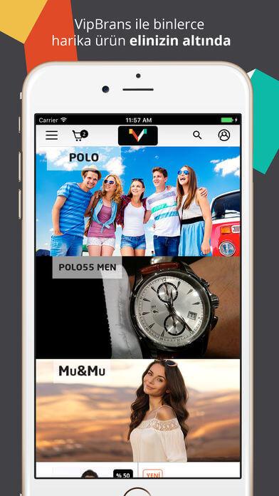 Vipbrands App Store